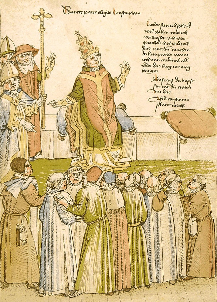 The Pope in Lodi, December 1413